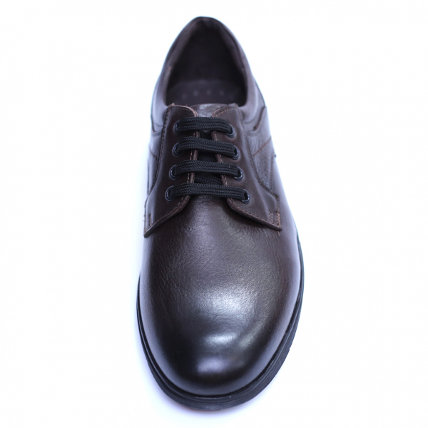 Pantofi barbati din piele naturala, Paul, Maro, 39 EU 1