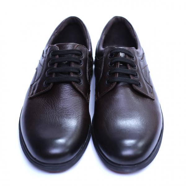 Pantofi barbati din piele naturala, Paul, Maro, 39 EU 2