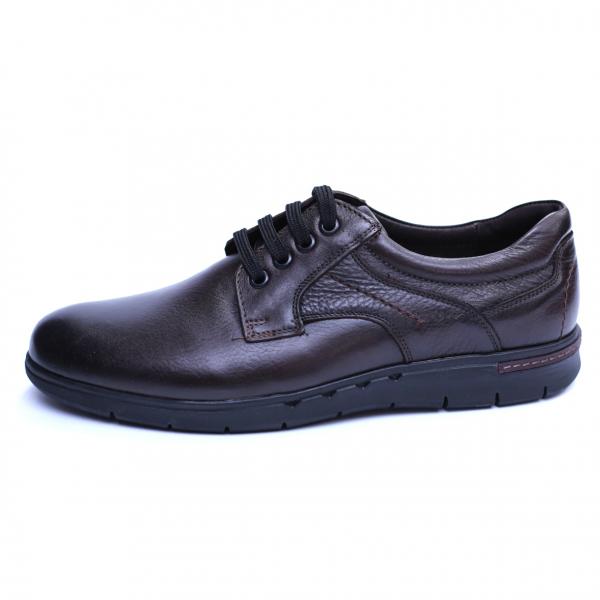 Pantofi barbati din piele naturala, Paul, Maro, 39 EU 3