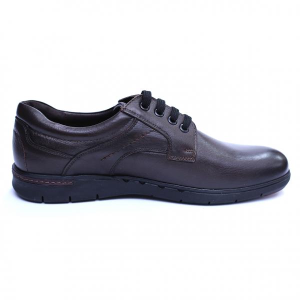 Pantofi barbati din piele naturala, Paul, Maro, 39 EU 4