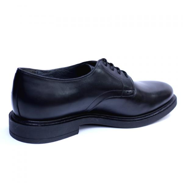Pantofi barbati din piele naturala, Sam, RIVA MANCINA, Negru, 40 EU [1]