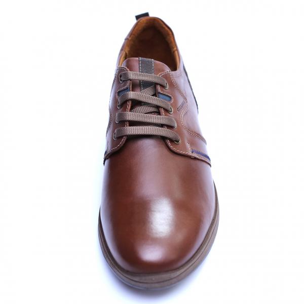 Pantofi barbati din piele naturala, Martin, Gitanos, Maro, 39 EU [1]