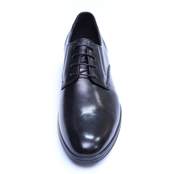 Pantofi barbati din piele naturala, Knight, SACCIO, Negru, 39 EU [1]