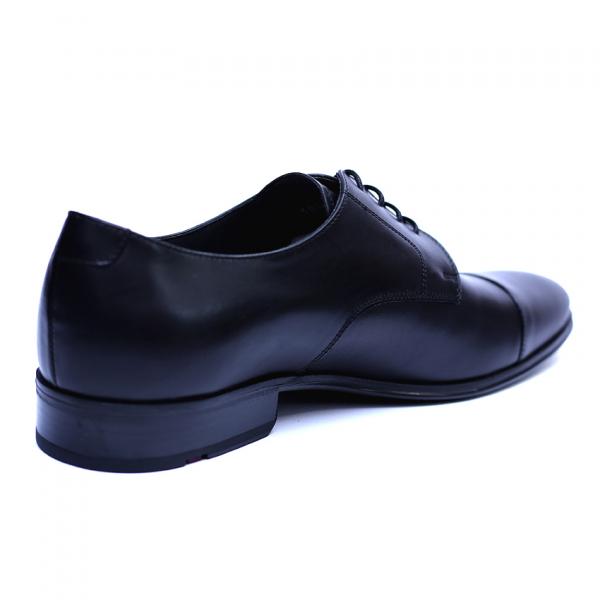 Pantofi barbati din piele naturala, Johnny, ANNA CORI, Negru, 43 EU 1