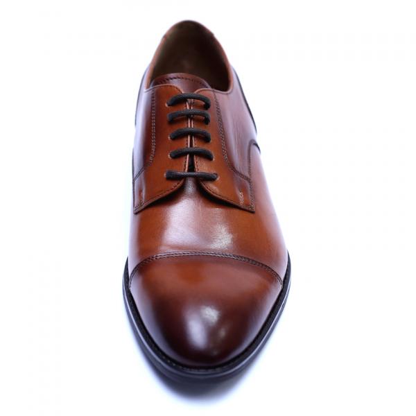 Pantofi barbati din piele naturala, Marlon, ANNA CORI, Maro, 40 EU 1