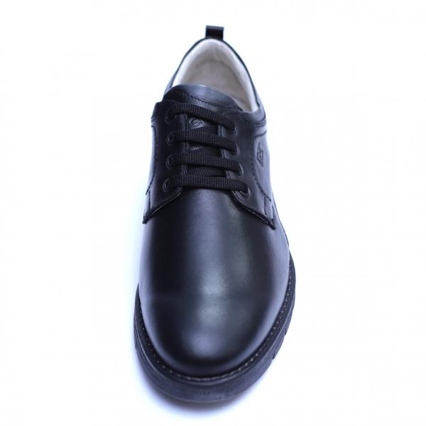 Pantofi barbati din piele naturala, Sir, Gitanos, Negru, 39 EU 1