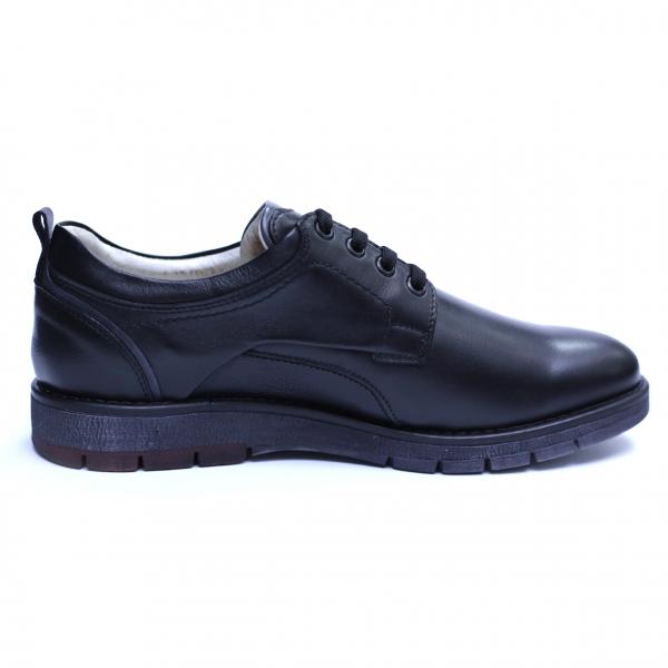 Pantofi barbati din piele naturala, Sir, Gitanos, Negru, 39 EU 3