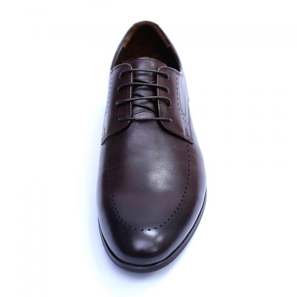 Pantofi barbati din piele naturala, Lee, SACCIO, Maro, 42 EU 1