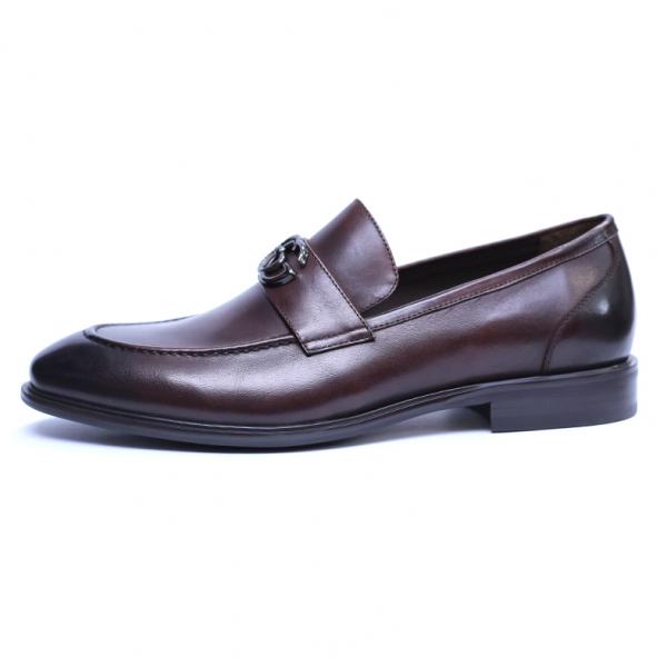 Pantofi barbati din piele naturala, Dolce vita, SACCIO, Maro, 39 EU 2