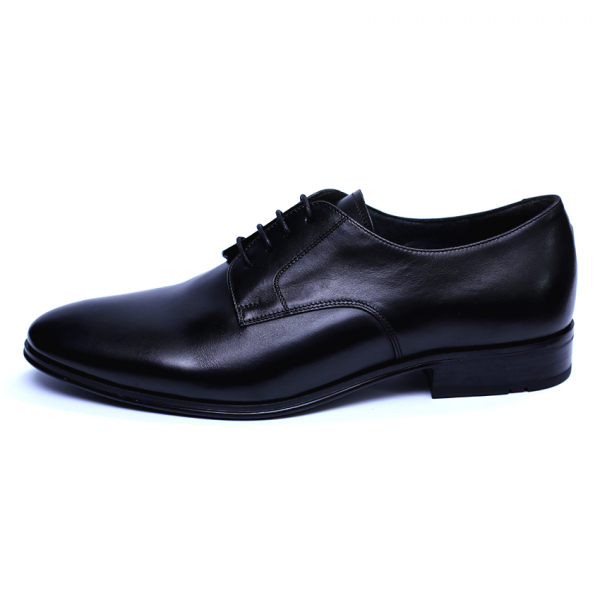 Pantofi barbati din piele naturala, 20s, ANNA CORI, Negru, 40 EU [1]