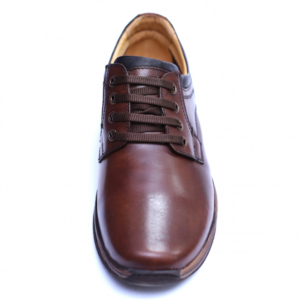 Pantofi barbati din piele naturala, Demy, Gitanos, Maro, 39 EU [1]