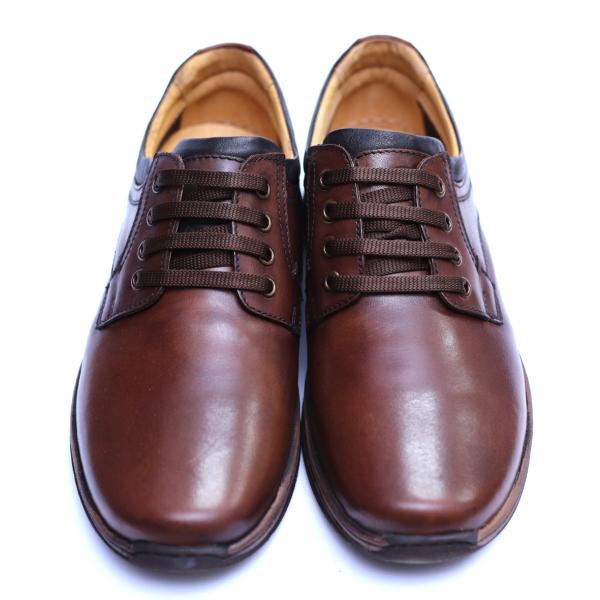 Pantofi barbati din piele naturala, Demy, Gitanos, Maro, 39 EU [2]
