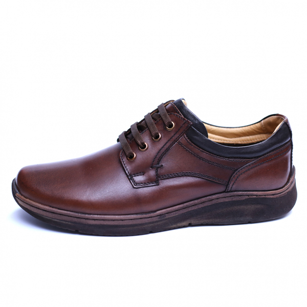 Pantofi barbati din piele naturala, Demy, Gitanos, Maro, 39 EU [3]