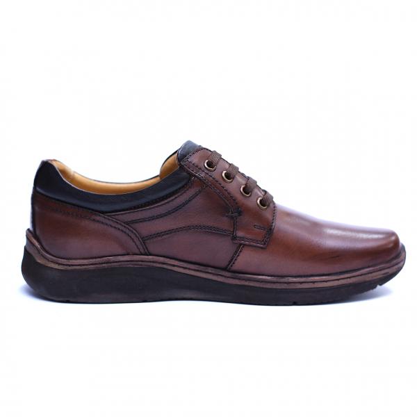 Pantofi barbati din piele naturala, Demy, Gitanos, Maro, 39 EU [4]