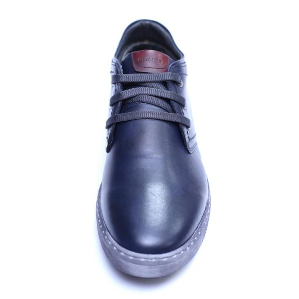 Pantofi barbati din piele naturala, Jim, Gitanos, Bleumarin, 39 EU 1