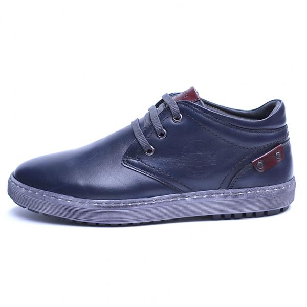 Pantofi barbati din piele naturala, Jim, Gitanos, Bleumarin, 39 EU 3