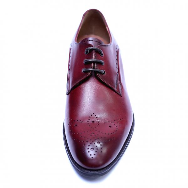 Pantofi eleganti pentru barbati din piele naturala, Soni, ANNA CORI, Bordeaux, 40 EU [1]