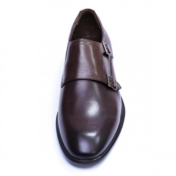 Pantofi barbati din piele naturala, Vito, SACCIO, Maro, 39 EU 1