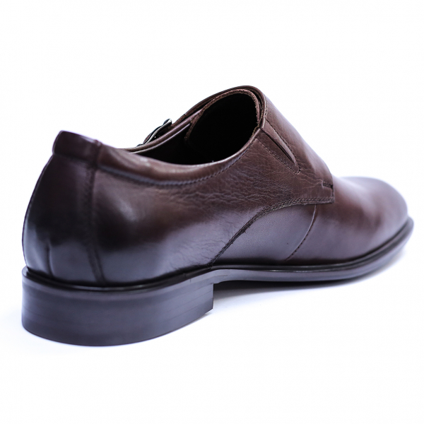 Pantofi barbati din piele naturala, Vito, SACCIO, Maro, 39 EU 4