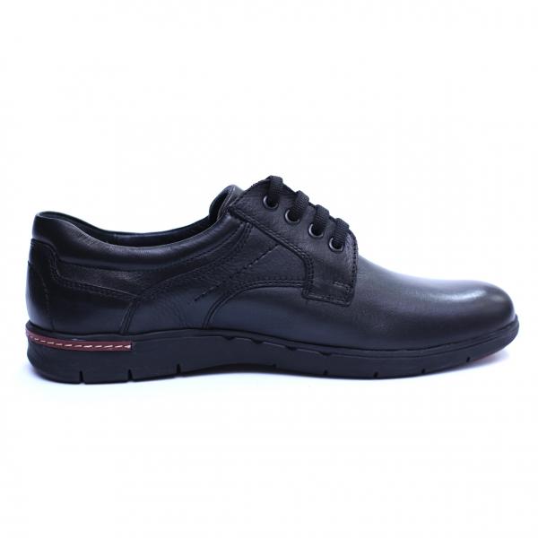 Pantofi barbati din piele naturala, Paul, Negru, 39 EU 3