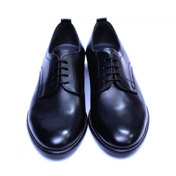 Pantofi barbati din piele naturala, Detective, RIVA MANCINA, Negru, 39 EU 1
