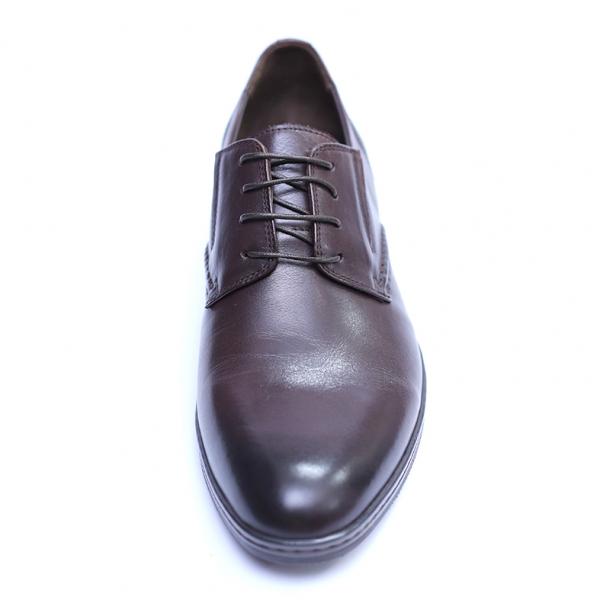 Pantofi barbati din piele naturala, Knight, SACCIO, Maro, 39 EU 1