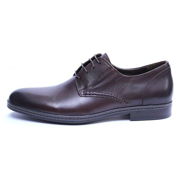 Pantofi barbati din piele naturala, Knight, SACCIO, Maro, 39 EU [3]