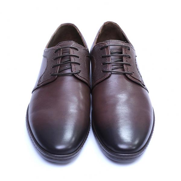 Pantofi barbati din piele naturala, Tom, SACCIO, Maro, 39 EU 2