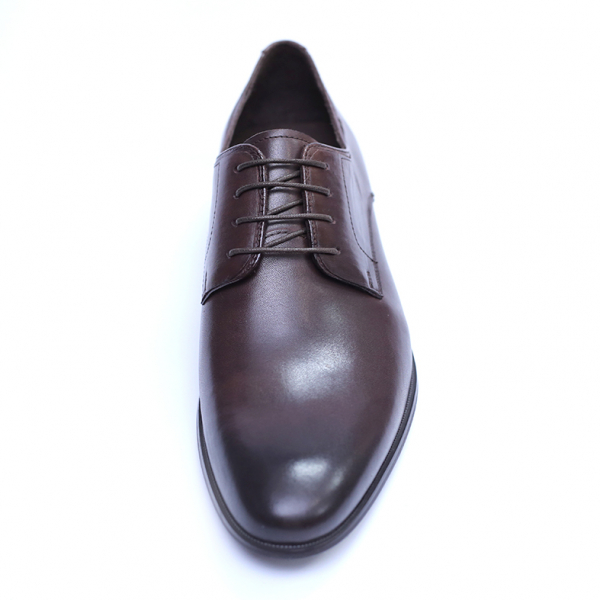 Pantofi barbati din piele naturala, Leo, SACCIO, Maro, 39 EU 1