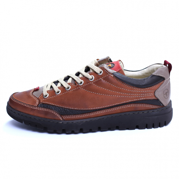 Pantofi barbati din piele naturala, JK, Gitanos, Maro, 39 EU 1