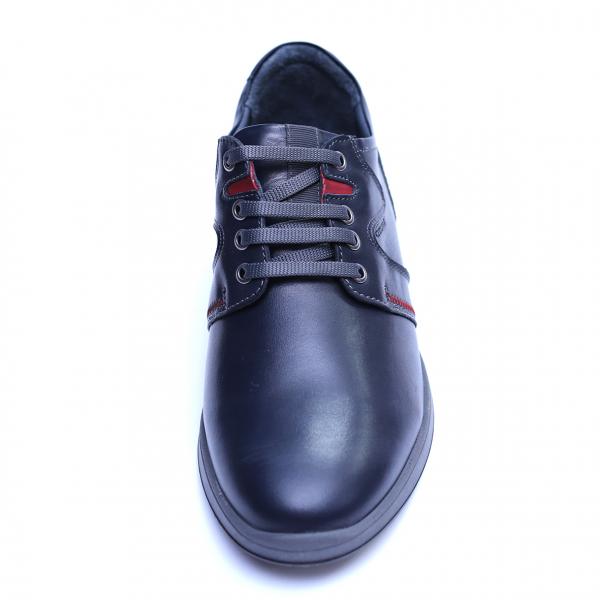 Pantofi barbati din piele naturala, Martin, Gitanos, Bleumarin, 39 EU 1
