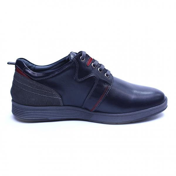 Pantofi barbati din piele naturala, Martin, Gitanos, Bleumarin, 39 EU 3
