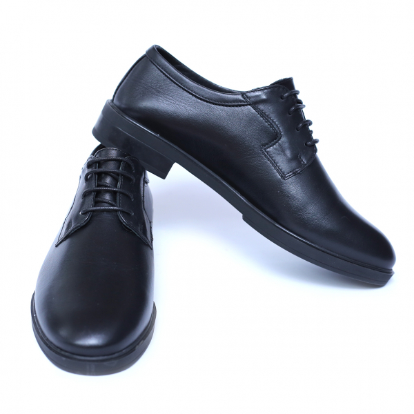 Pantofi dama din piele naturala, Fabia, Peter, Negru, 39 EU 1