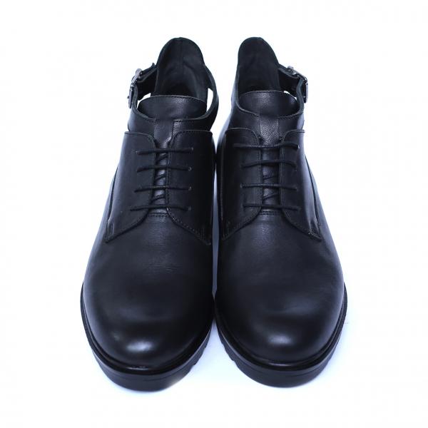 Pantofi dama din piele naturala, AML, Negru, 36 EU 0