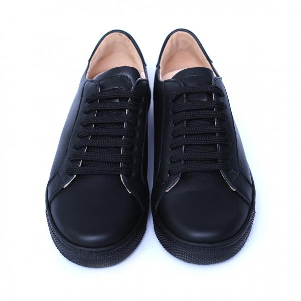 Pantofi dama din piele naturala, Verona, Peter, Negru, 35 EU 2