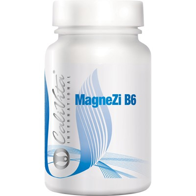 Magneziu Zinc cu B6, MagneZi B6, 90 tablete, CaliVita [0]
