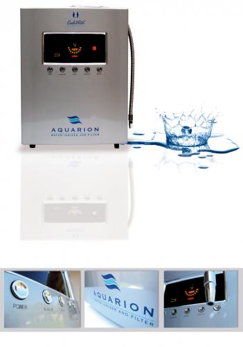 Aparat pentru filtrarea apei, Aquarion Water Ionizer and Filter, CaliVita 1