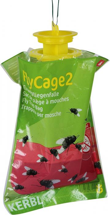 Capcana pentru insecte non-toxic cu miros de bulion FlyCage, Kerbl 0