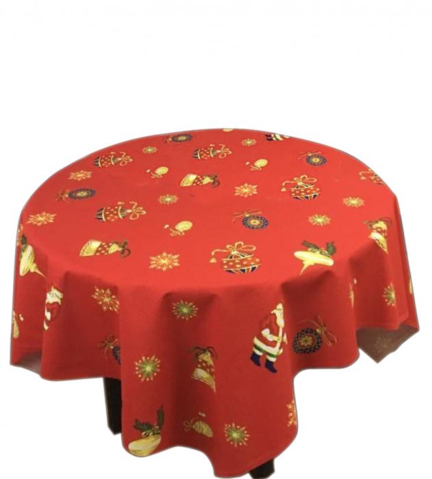 Fata de masa pentru 4 persoane, Cairo, bumbac 100%, 150x150cm, multicolor [0]