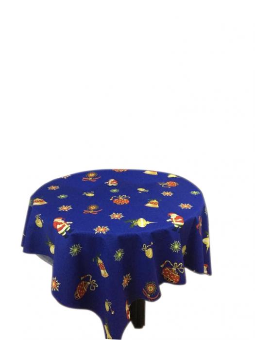 Fata de masa pentru 4 persoane, Star, bumbac 100%, 150x150cm, multicolor [0]