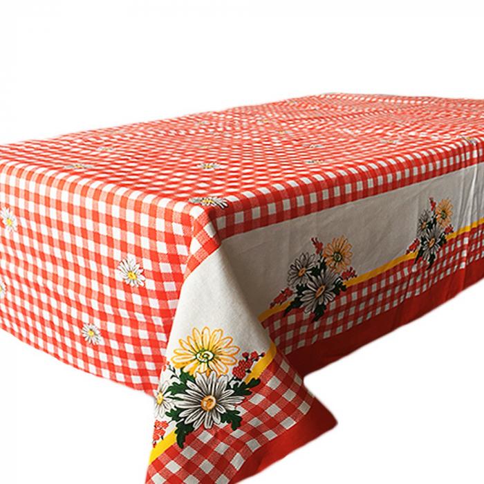 Fata de masa pentru 4 persoane, Clasic romanesc, bumbac 100%, 150x150cm, multicolor [0]