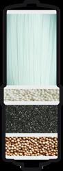 Filtru de rezerva pentru aparatul de filtrare a apei Aquarion Water Ionizer and Filter, Aquarion Filtru Biostone, CaliVita 0