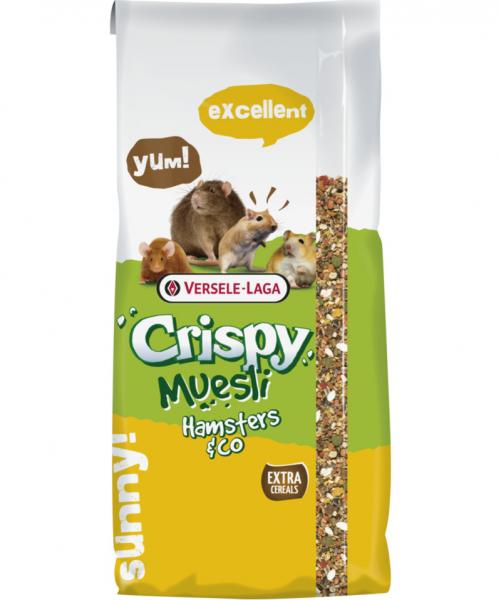 Hrana completa pentru hamsteri, Hamster Crispy, 2 x 1 kg 0