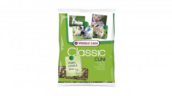 Hrana iepuri Classic Cuni, Versele Laga, set 5 buc, 500g 0