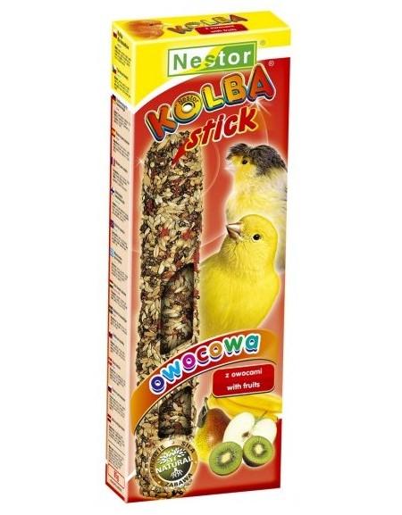 Hrana pentru canari cu fructe, Nestor, 1 stick, 85 g [0]