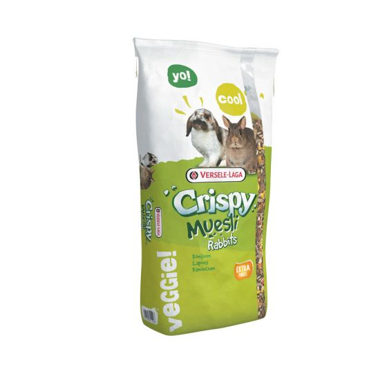 Hrana pentru iepuri pitici Versele Laga, Crispy Muesli, 20 kg [0]