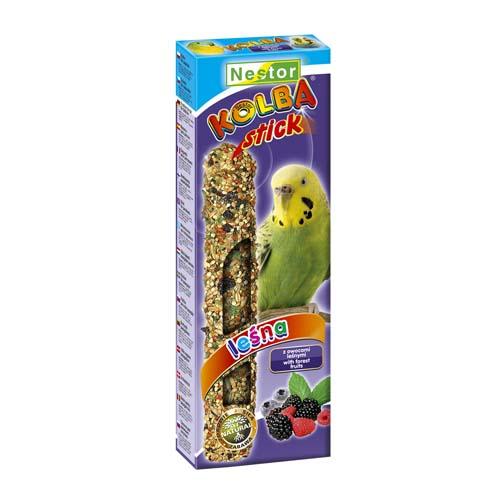 Hrana pentru perusi cu fructe tropicale, Nestor, 1 stick, 85 g [0]
