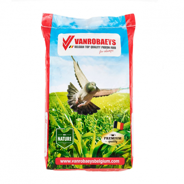 Hrana pentru porumbei, Breeding Exclusive, Vanrobaeys, 20 kg 0