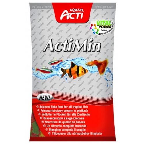 Hrana pesti Actimin, Aquael, 10x10g 0