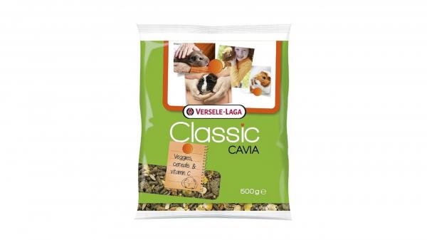 Hrana porcusorii de Guineea Classic Cavia, Versele Laga, set 5 buc, 500g 0